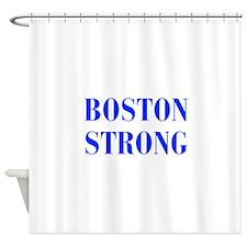 boston-strong-bod-blue Shower Curtain