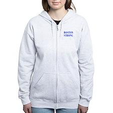 boston-strong-bod-blue Zip Hoodie