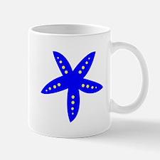 Blue Starfish Small Mug