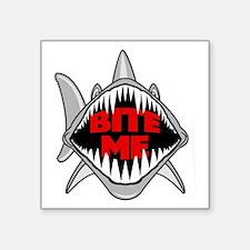 Bite Me Shark Rectangle Sticker