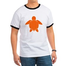 Orange Sea Turtle T-Shirt