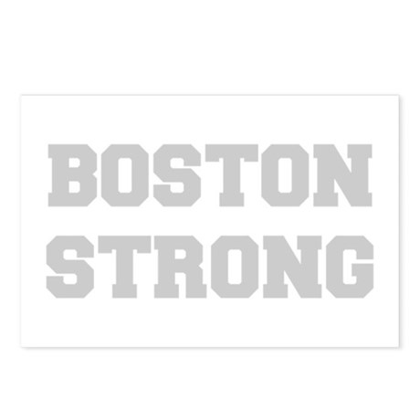 boston-strong-light-gray Postcards (Package of 8)