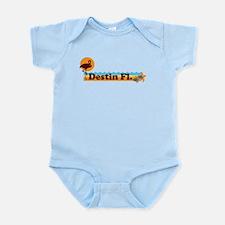 Desting Florida - Beach Design. Infant Bodysuit