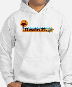 Desting Florida - Beach Design. Hoodie