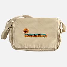 Desting Florida - Beach Design. Messenger Bag