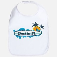 Destin Florida - Surf Design. Bib