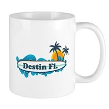 Destin Florida - Surf Design. Mug