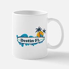 Destin Florida - Surf Design. Mug
