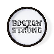 boston-strong-coll-dark-gray Wall Clock