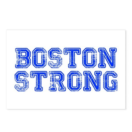 boston-strong-coll-blue Postcards (Package of 8)