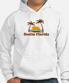 Destin Florida - Palm Tees Design. Hoodie