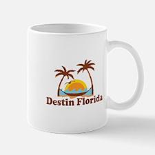 Destin Florida - Palm Tees Design. Mug