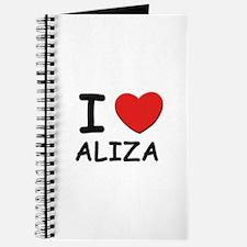 I love Aliza Journal