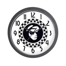 Rude Emblem Wall Clock