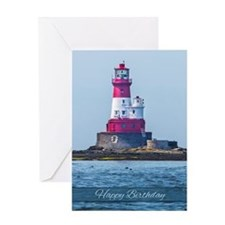Lighthouse Birthday Greeting Card