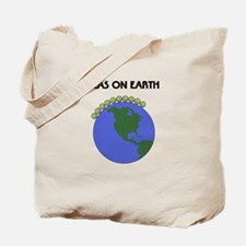 PeasOnEarthTshirt Tote Bag