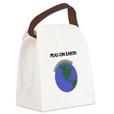 PeasOnEarthTshirt Canvas Lunch Bag
