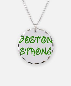 boston-strong-st-green Necklace