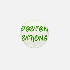 boston-strong-st-green Mini Button (10 pack)