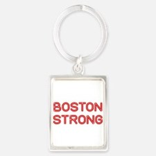 boston-strong-so-dark-red Keychains