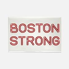 boston-strong-so-dark-red Rectangle Magnet