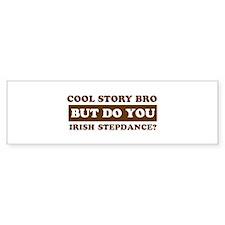 Irish Stepdance Designs Bumper Sticker
