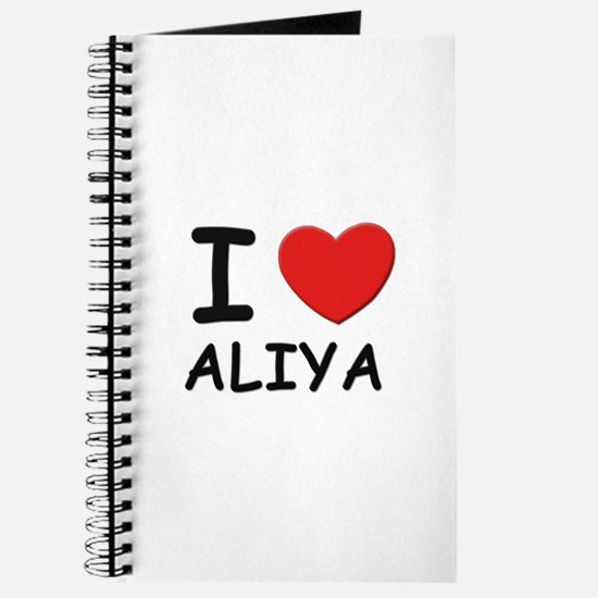 I love Aliya Journal