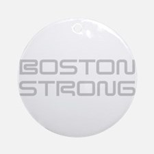 boston-strong-saved-light-gray Ornament (Round)