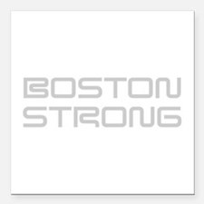boston-strong-saved-light-gray Square Car Magnet 3