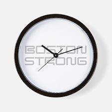 boston-strong-saved-light-gray Wall Clock