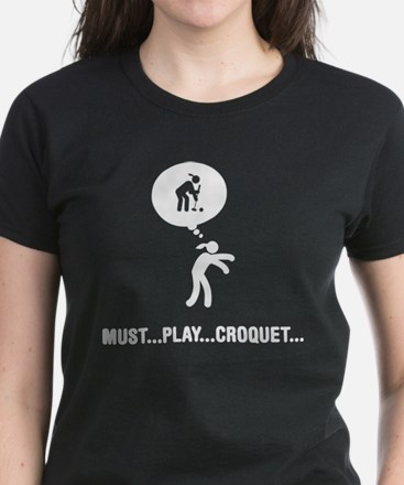 Croquet Women's Dark T-Shirt