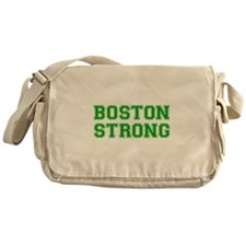 boston-strong-var-green Messenger Bag