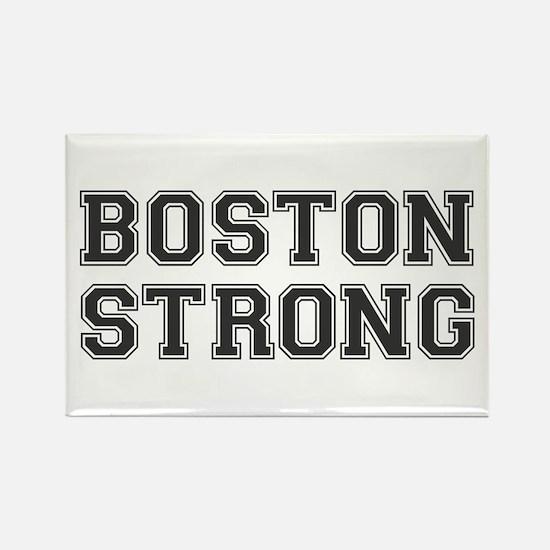 boston-strong-var-dark-gray Rectangle Magnet