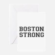 boston-strong-var-dark-gray Greeting Card