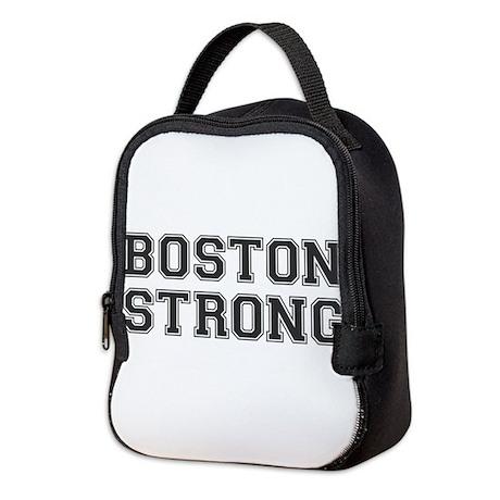 boston-strong-var-dark-gray Neoprene Lunch Bag