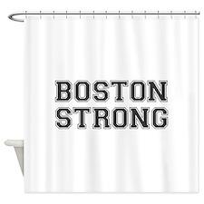 boston-strong-var-dark-gray Shower Curtain