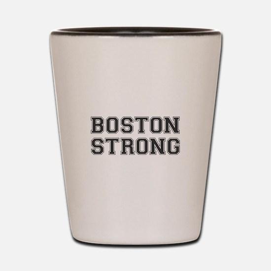 boston-strong-var-dark-gray Shot Glass
