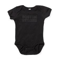 boston-strong-var-dark-gray Baby Bodysuit