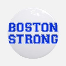 boston-strong-var-blue Ornament (Round)