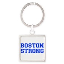 boston-strong-var-blue Keychains