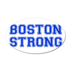 boston-strong-var-blue Wall Decal