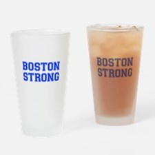 boston-strong-var-blue Drinking Glass