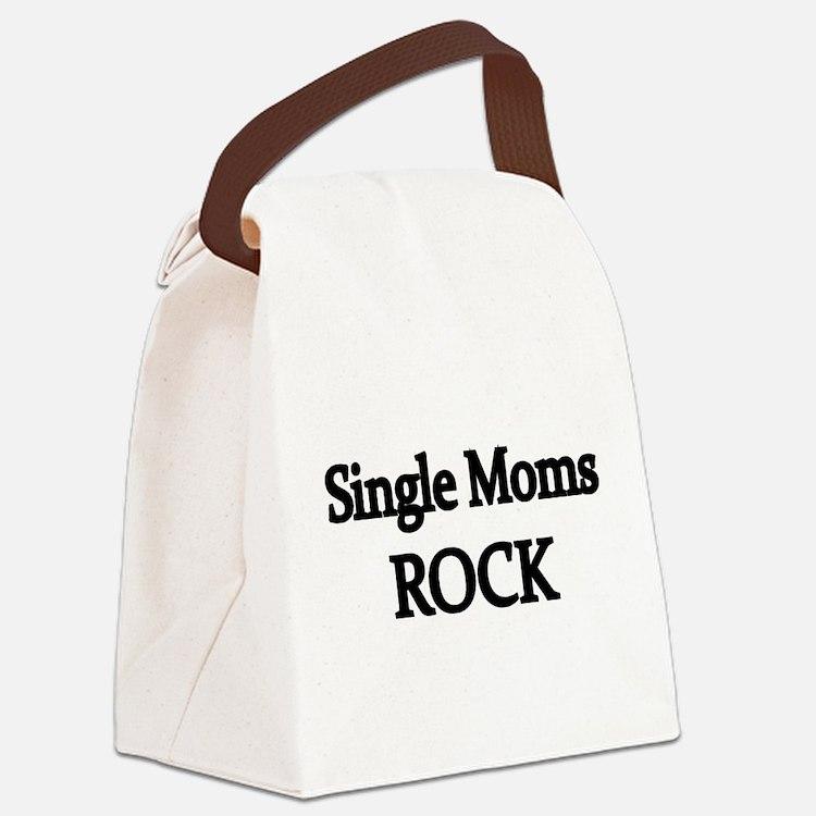 SINGLE MOMS ROCK 2 Canvas Lunch Bag