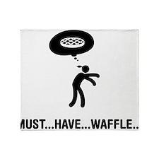 Waffle Fanatic Throw Blanket