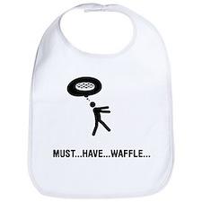 Waffle Fanatic Bib
