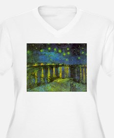 Starry Night Over The Rhone by Vindent van Gogh Pl