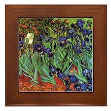 Irises by van Gogh Vintage Post Impressionism Art