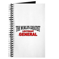 """The World's Greatest Lieutenant General"" Journal"