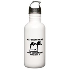 All's Grand On The South Carolina Coast Water Bottle