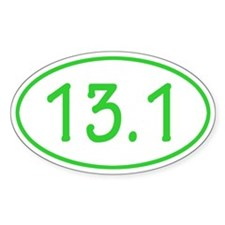 Lime 13.1 Oval Decal